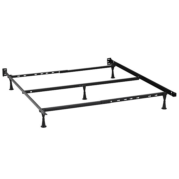 Metal Bed Frames Queen queen metal bed frame | the land of nod