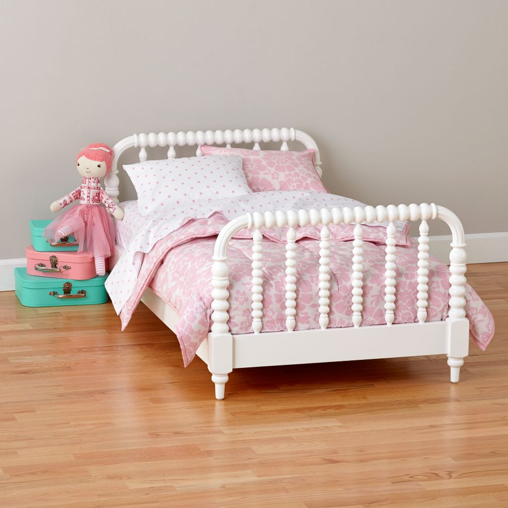 Baby bed that hooks to bed - Jenny Lind Toddler Bed