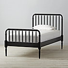 Twin Jenny Lind Black Bed