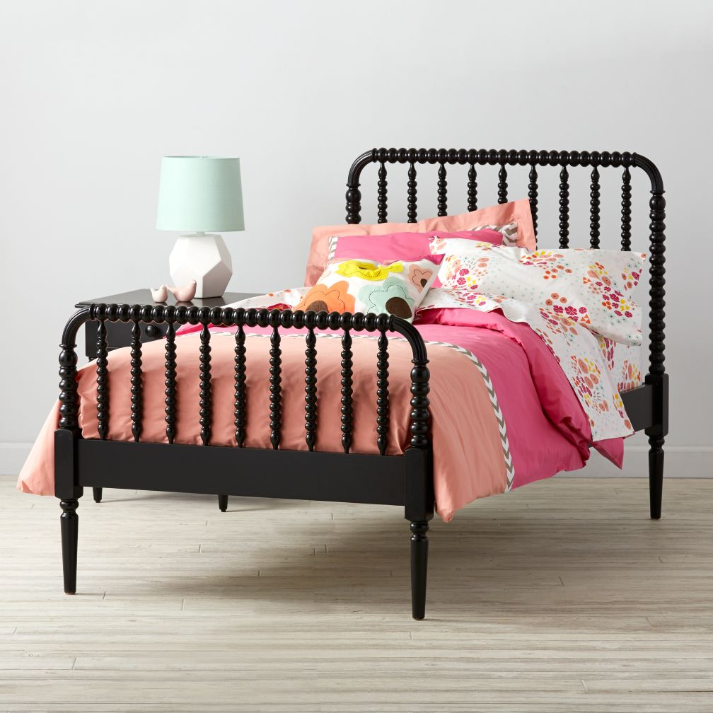 Jenny Lind Kids Bed Black The Land Of Nod