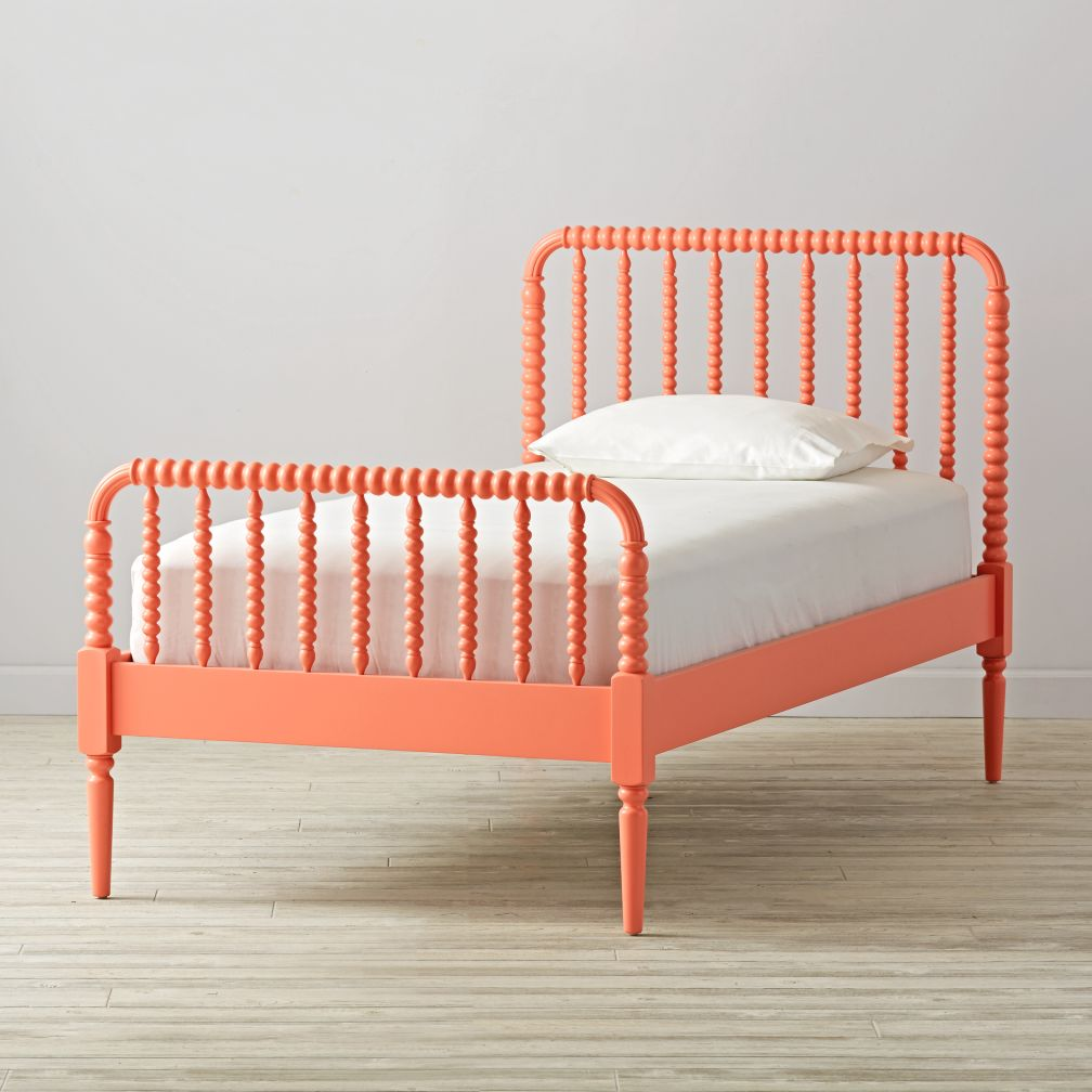 Twin Jenny Lind Coral Bed