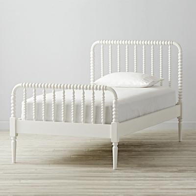 Twin Jenny Lind White Bed