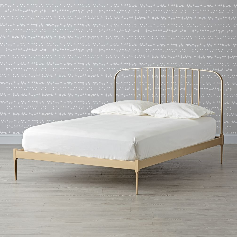 gold bed frame gallery
