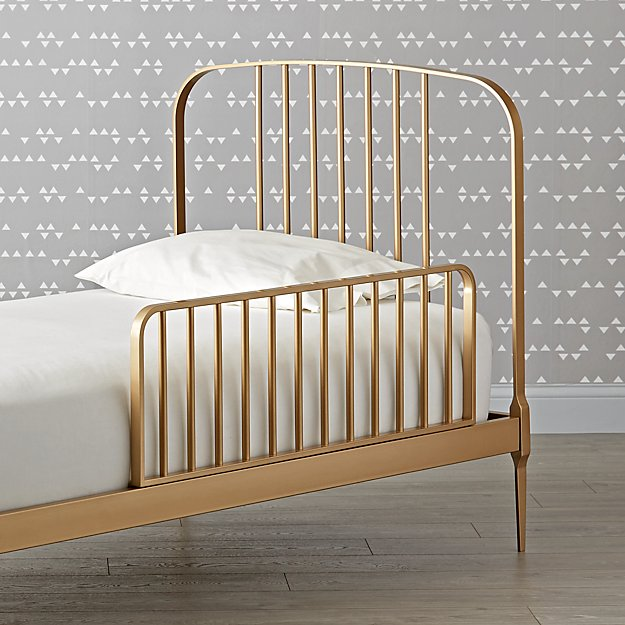 Larkin Gold Bed Rail