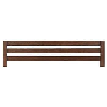 Uptown Brown Bed Guardrail