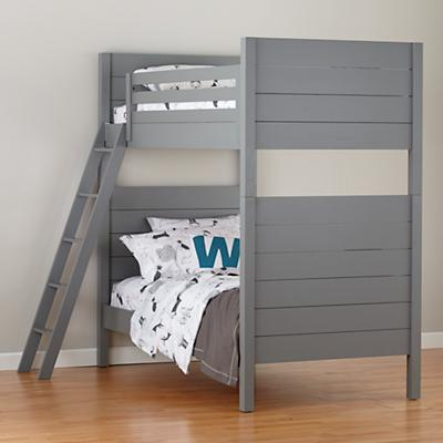 Uptown Grey Twin Bunk Bed