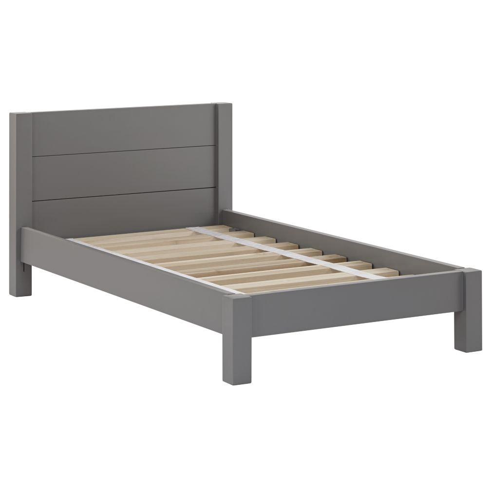uptown toddler bed (white)  the land of nod -