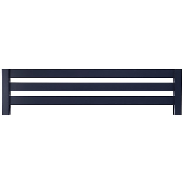 Uptown Midnight Blue Bed Guardrail