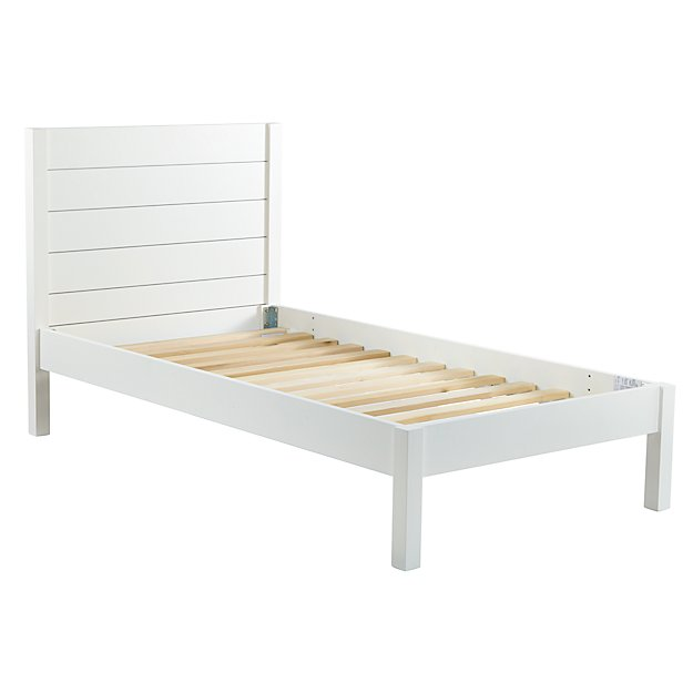 Twin Uptown Bed (White)