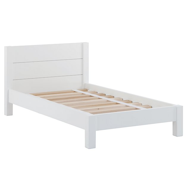 Uptown Toddler Bed White The Land of Nod