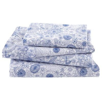 Twelve Bar Blues Floral Sheet Set (Queen)