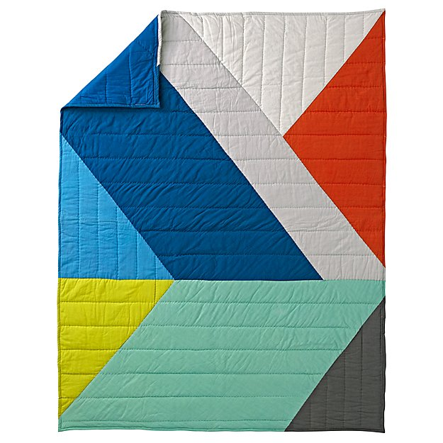 Full-Queen Angular Quilt