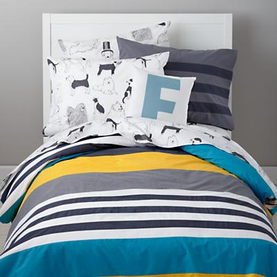 Wide Lined Duvet Cover