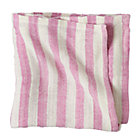 Fuchsia Striped Blanket