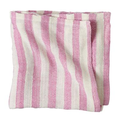 Striped Blanket (Fuchsia)