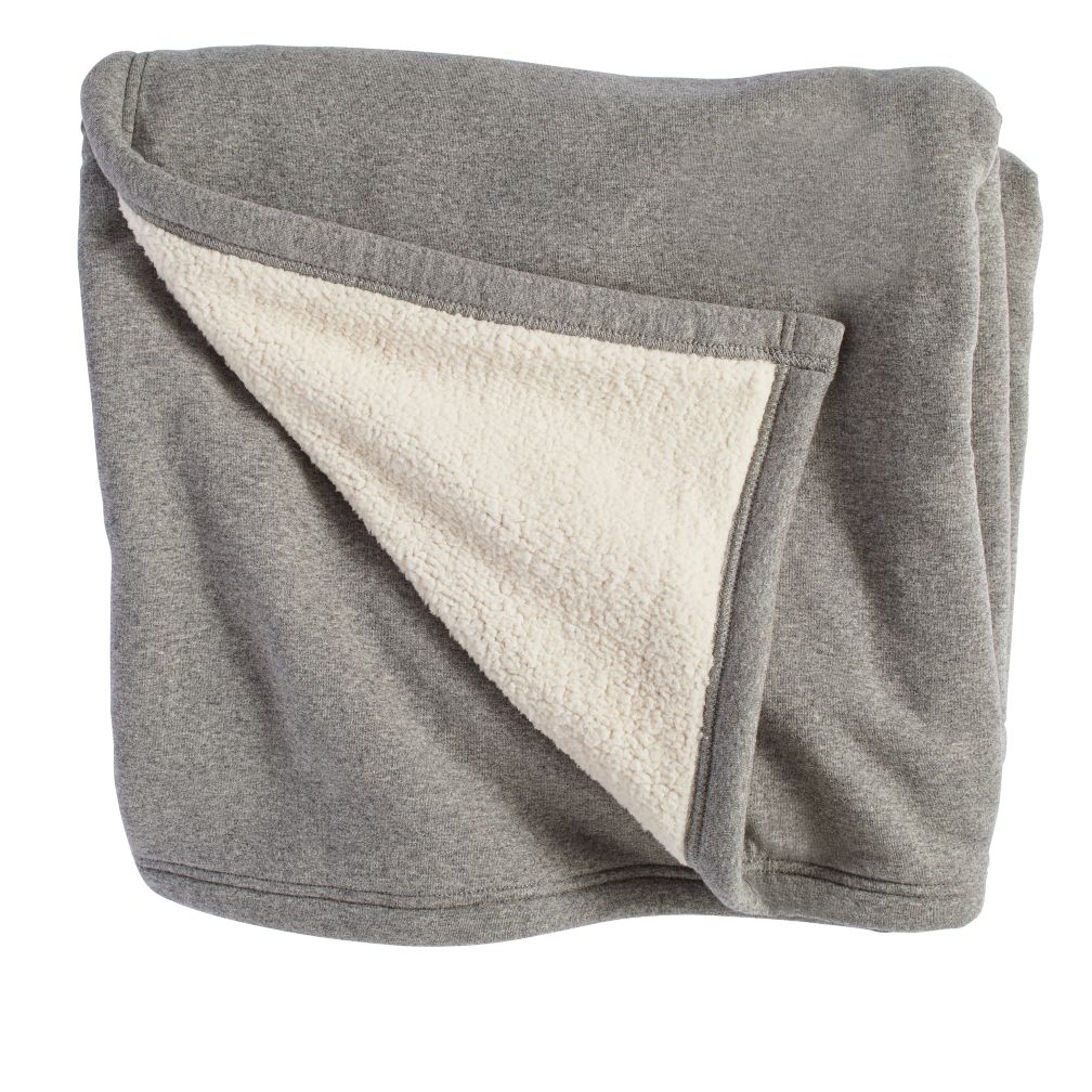 Grey Sweatshirt Blanket The Land Of Nod