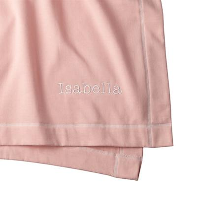 Personalized Standard Issue Pink Sweatshirt Blanket