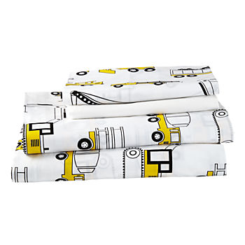 Organic Builder's Queen Sheet Set