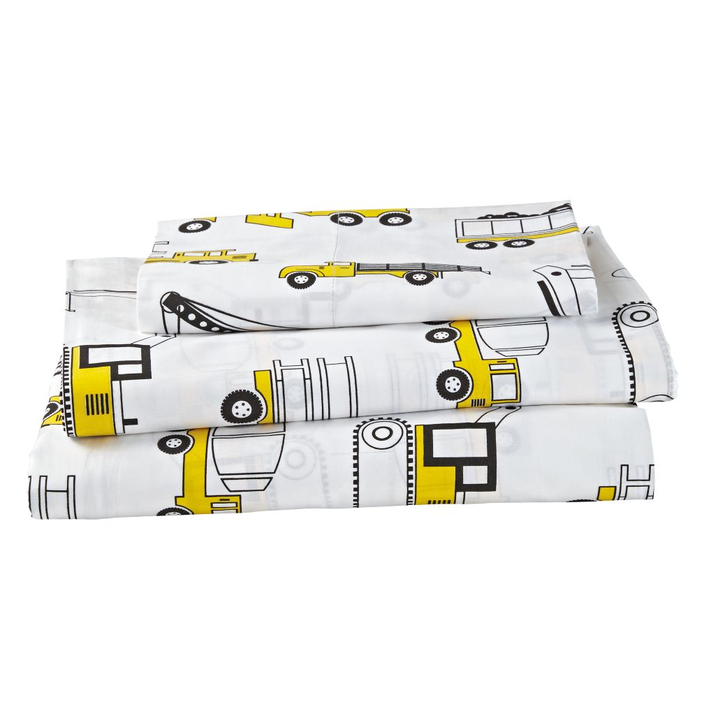 Organic Builder's Twin Sheet Set