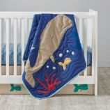 Aquatic Crib Bedding