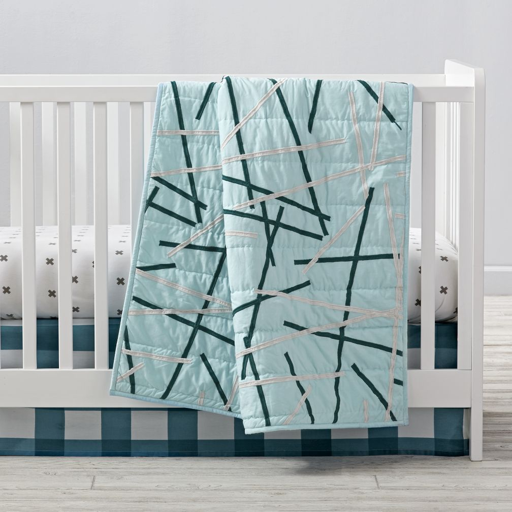 Atomic Crib Bedding
