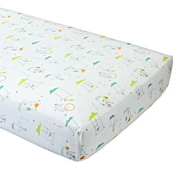 Big Top Fitted Crib Sheet