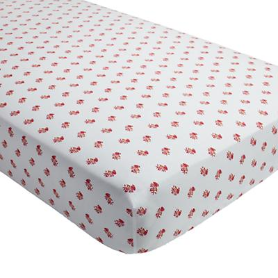Bohemian Garden Crib Fitted Sheet (Floral)