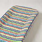 Multi Candy Stripe Changing Pad Cover