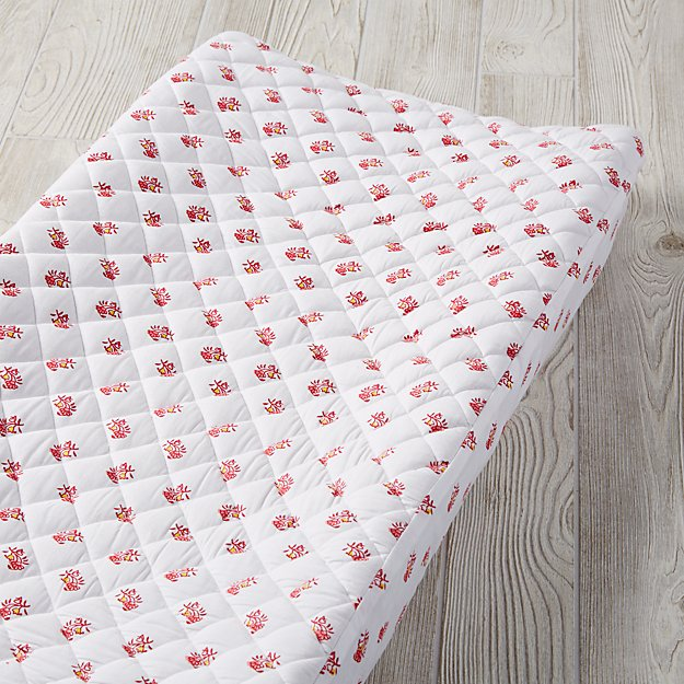 Bohemian Garden Changing Pad Cover (Floral)