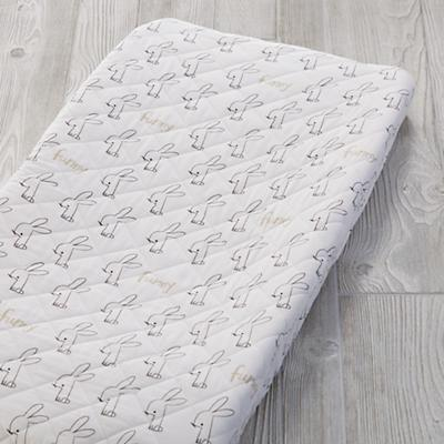 Early Edition Changing Pad Cover (Bunny)