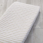 Early Edition Khaki Stripe Changing Pad Cover