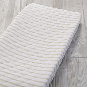 Early Edition Changing Pad Cover (Khaki Stripe)