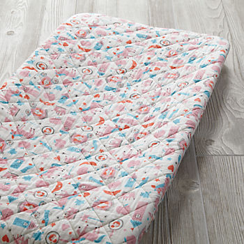 Far, Far Away Changing Pad Cover (Princess)