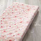 Pink Floral Go Lightly Changing Pad Cover