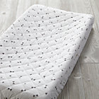 Grey Triangle Go Lightly Changing Pad Cover