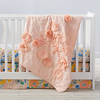 Floral Rush Crib Bedding (3-Piece Set)