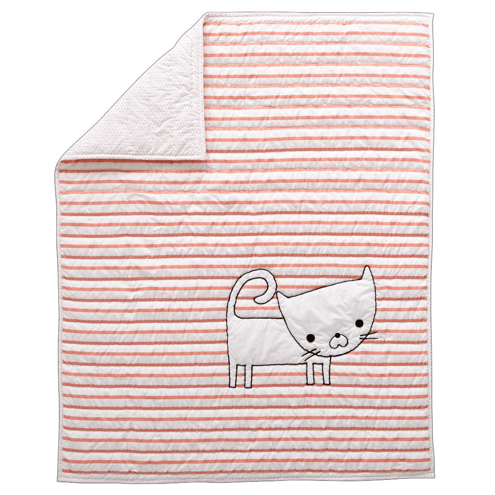Early Edition Baby Quilt (Cat)