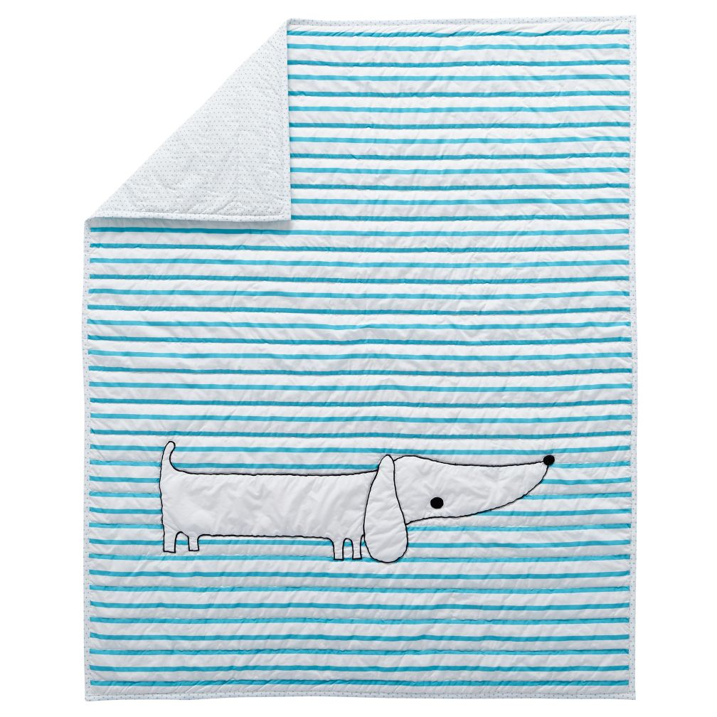 Early Edition Baby Quilt (Dog)