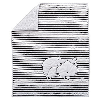 Early Edition Baby Quilt (Hamster)