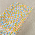 Blue & Yellow Chevron Changing Pad Cover