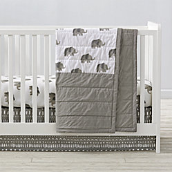 Set Of 2 Wild Excursion Grey Changing Pad Covers The