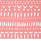 Wild Excursion Pink Crib Skirt