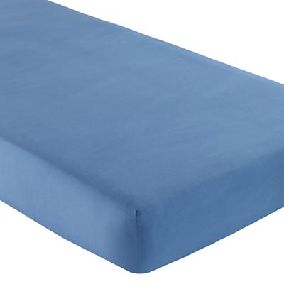 Fine Prints Crib Fitted Sheet (Dk. Blue)