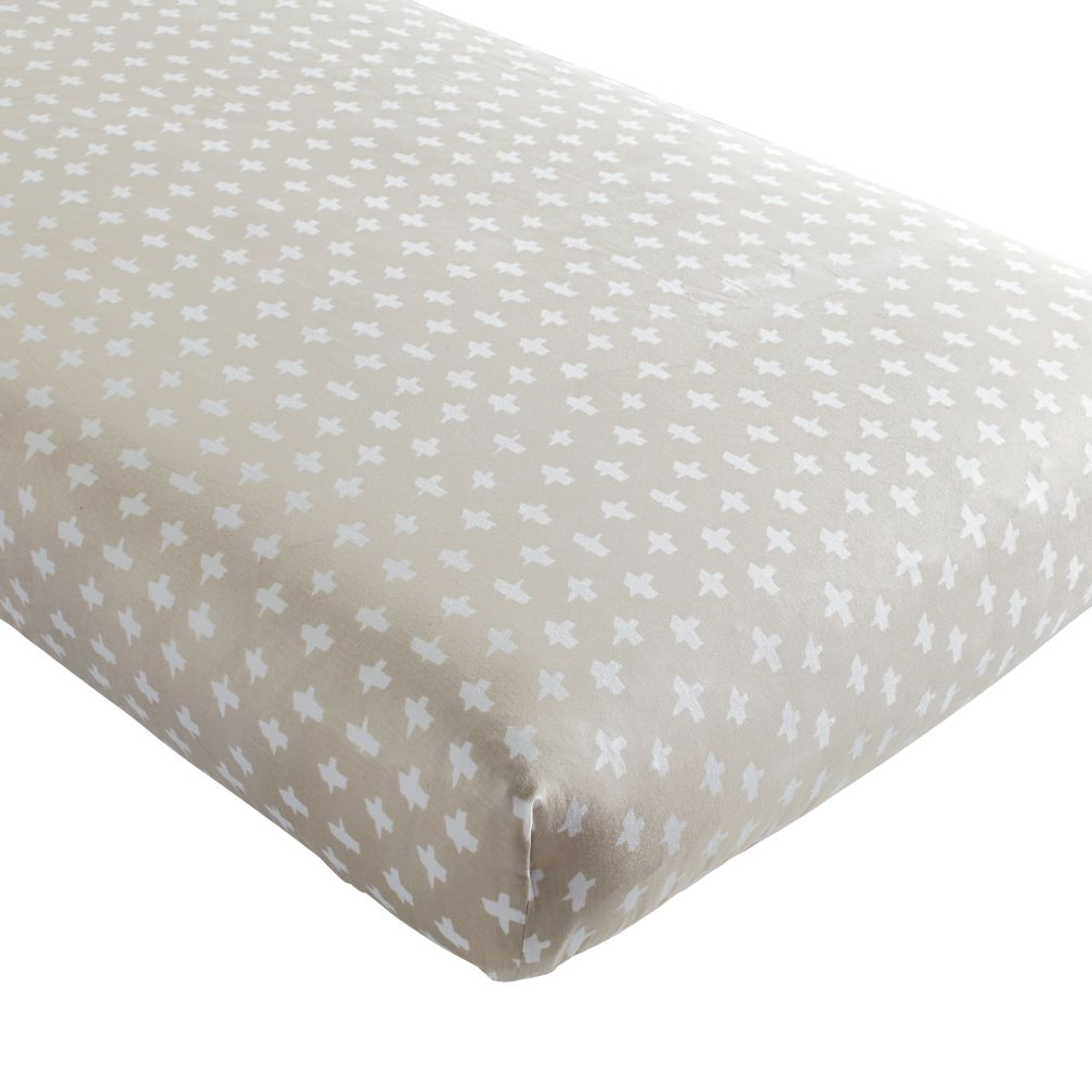 Freehand Crib Fitted Sheet