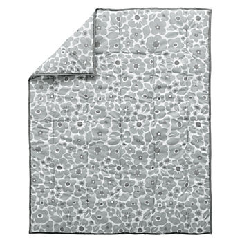 Go Lightly Baby Quilt (Grey)