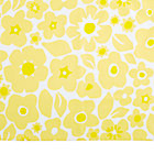 Yellow Go Lightly Crib Skirt