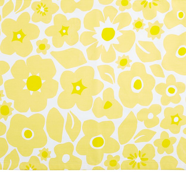 Go Lightly Crib Skirt (Yellow)