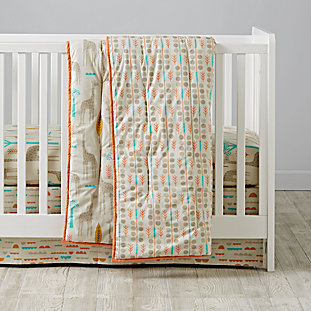 The world banner the land of nod for World crib bedding