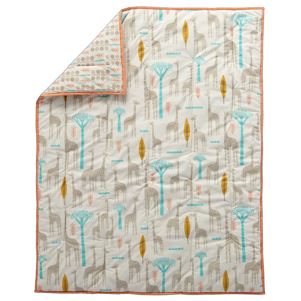 Organic High Plains Baby Quilt