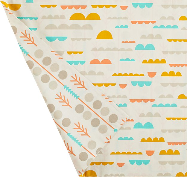 High Plains Organic Crib Skirt